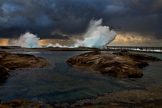 North Curl Curl Morning by Dianne English