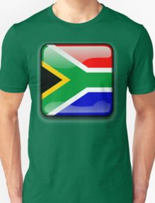 South African Flag, South Africa Icon T-Shirt