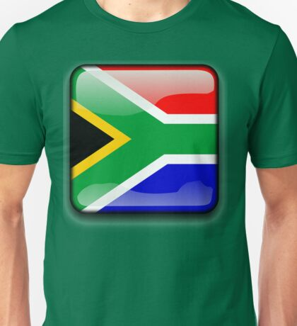 South African Flag, South Africa Icon Unisex T-Shirt