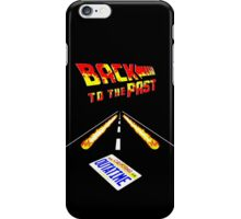 Back To the Past iPhone Case/Skin