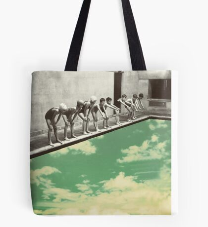 """Skydiving"" Tote Bag"