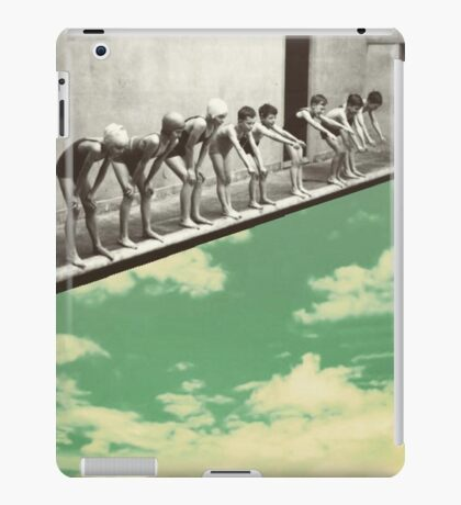 """Skydiving"" iPad Case/Skin"
