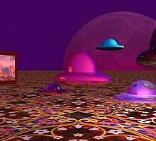 Martian Drive-In, Carpet County by Joni  Rae