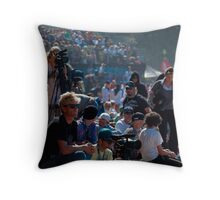 On the beach at the Bowl Throw Pillow