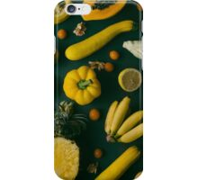 Yellow food iPhone Case/Skin