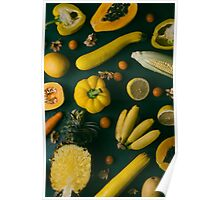 Yellow food Poster