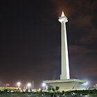 Monas, Jakarta by Tim Coleman