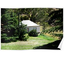 Cottage at Hartley N.S.W. Poster
