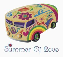 Summer of Love 60's Hippie  Vehicle by Zehda