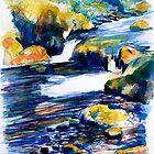 Rocks & Ripples 1a by Richard Sunderland