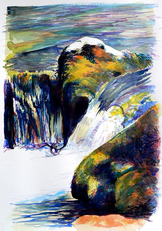 Rocks & Ripples 1b by Richard Sunderland