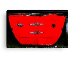 Redundant bulkhead Canvas Print