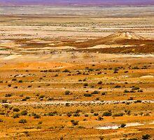 The vivid palette of the Breakaways, South Australia. by Fineli