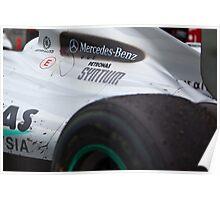 Schumacher Aust GP Poster