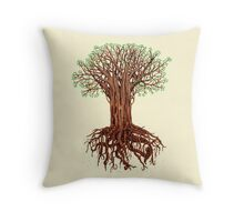 Tree Tee Throw Pillow