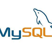 MySQL logo by yehudade