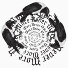 Raven Circle of Three by Zehda