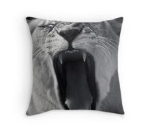 An Attack... Throw Pillow