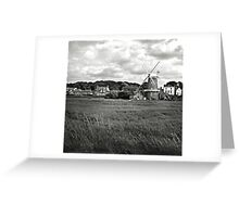 The windmill at Cley-Next-the-Sea, Norfolk, UK Greeting Card