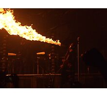Rammstein, there be dragons Photographic Print