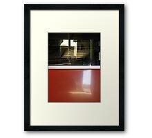 BusLines Framed Print