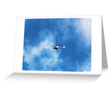 Garda Air  Greeting Card