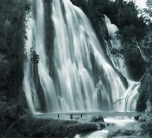 Salto Limon falls,Dominicana by leksele