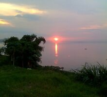Sunset by the CONGO RIVER by Naboulove