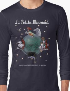 La Petite Mermaid (version2) Long Sleeve T-Shirt