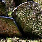 Old Jewish Cemetery (Prague) - III by Gili Orr
