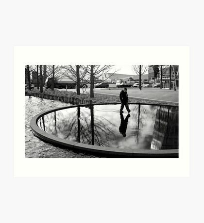 Reflections of Liverpool Art Print
