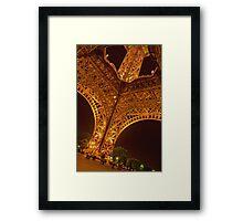 0004  Paris - The Eiffel Tower Framed Print