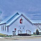 United Methodist Church, Winnett Montana USA by Bryan D. Spellman