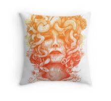 The Protectress Throw Pillow