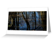 mirror reflections & Shadow Greeting Card