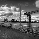 Glasgow - River Clyde Waterfront. by Daniel Davison