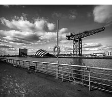 Glasgow - River Clyde Waterfront. Photographic Print