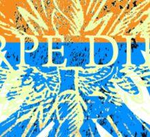 Carpe Diem Mythical Griffin Sticker