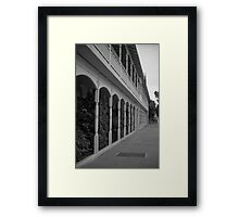 Colonial Perspective Framed Print
