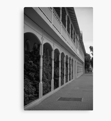 Colonial Perspective Canvas Print