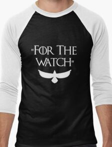 Game Of Thrones - For The Watch  Men's Baseball ¾ T-Shirt