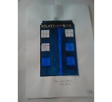 The TARDIS - from 'Doctor Who' 1963 Photographic Print
