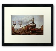 LMS Jubilee at Edge Hill Framed Print
