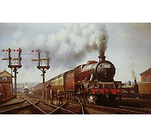 LMS Jubilee at Edge Hill Photographic Print