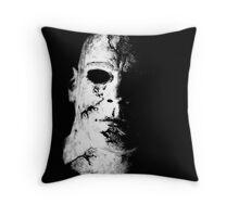Face of Evil Throw Pillow