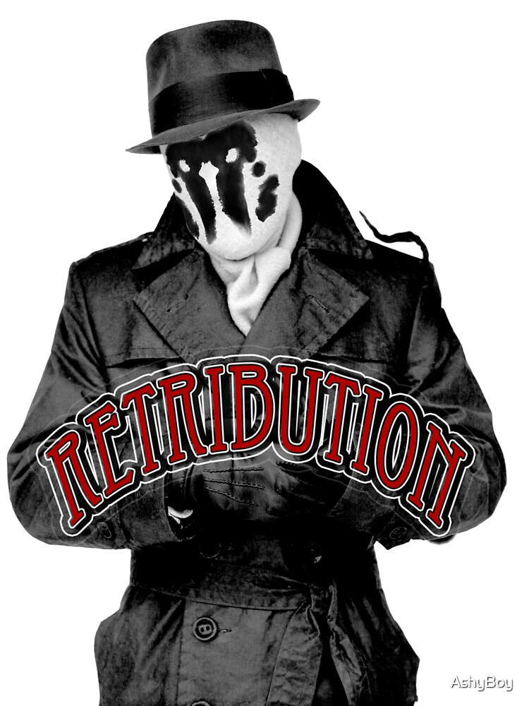 Rorschach - Retribution Red by AshyBoy