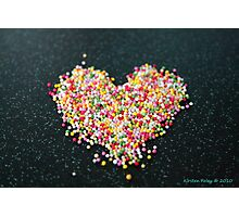 hundreds and thousands of love Photographic Print