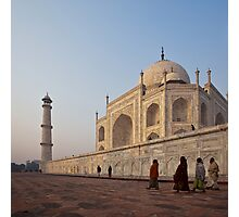 Roaming Colour - Taj Mahal Photographic Print