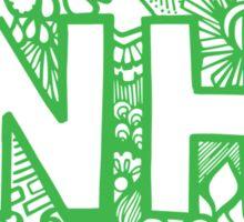 NHampshiire  Sticker