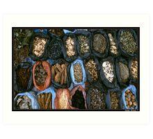 Spices Market Art Print